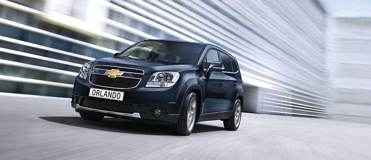 Chevrolet Orlando – 7-osobowy crossover